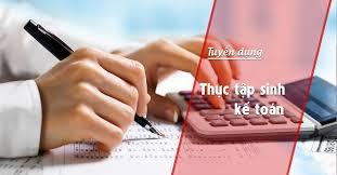 thực tập kế toán