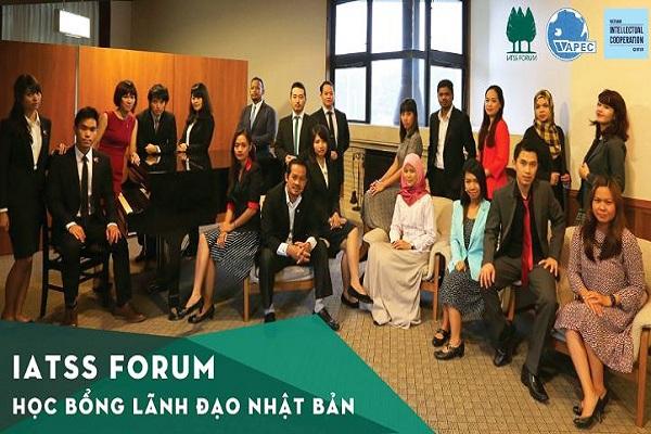 Học Bổng Toàn Phần Tham Dự Chương Trình Đào Tạo Lãnh Đạo Trẻ Tại Nhật Bản Dành Cho Công Dân Việt Nam - IATSS Forum 2018