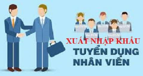 tuyển dụng chuyên viên Xuất nhập khẩu