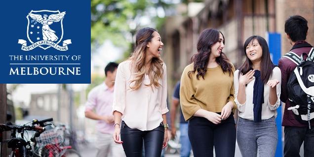 Chương trình học bổng tại Đại học Melbourne năm 2020