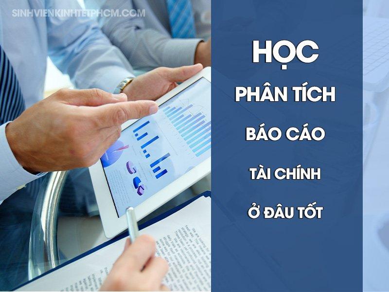 Học phân tích báo cáo tài chính